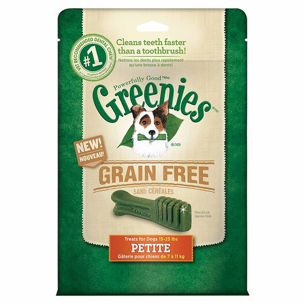 Greenies Dental Treats Grain-Free Petite Dog Treats