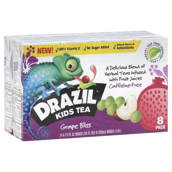 Drazil Grape Bliss Kids Tea
