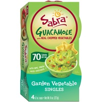 Sabra Garden Vegetable with Real Chopped Vegetables Guacamole