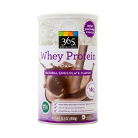365 Natural Chocolate Flavor Whey Protein Powder