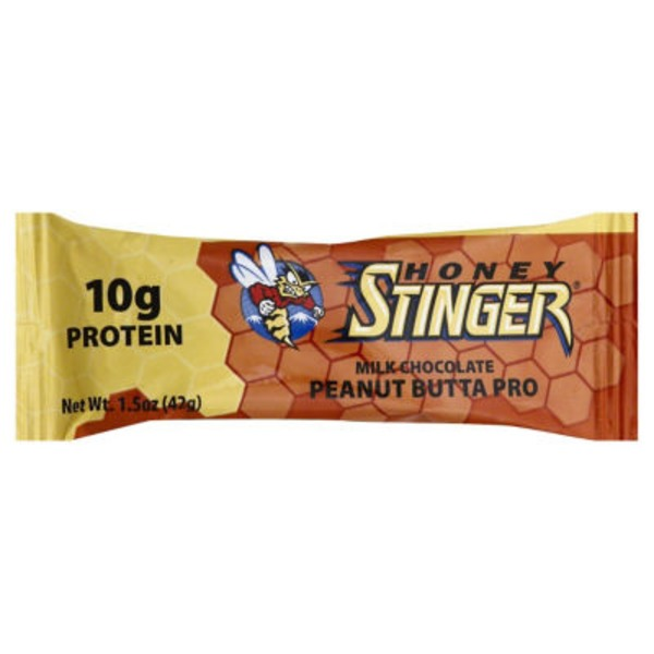 Honey Stinger Milk Chocolate Peanut Butta Pro Protein Bar