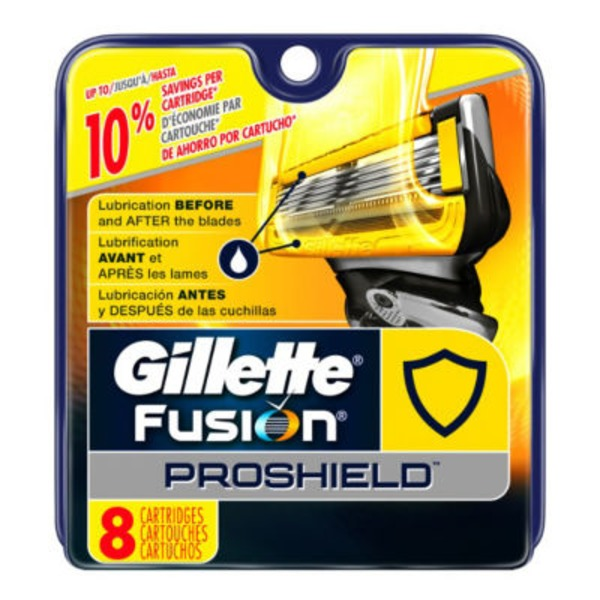 Gillette Fusion Proshield Cartridges - 8 CT