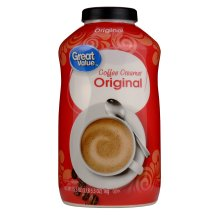 Great Value Coffee Creamer, Original, 35.3 oz