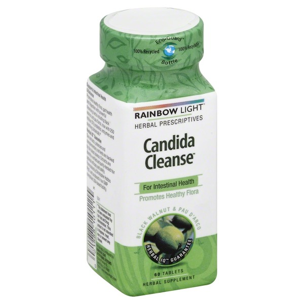 Rainbow Light Candida Cleanse Dietary Supplement Tablets - 60 CT