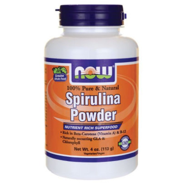 Now 100% Natural Spirulina Powder