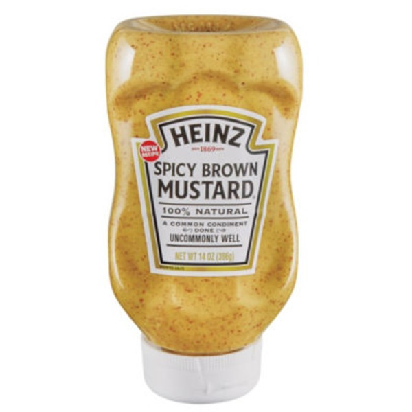 Heinz Spicy Brown Mustard
