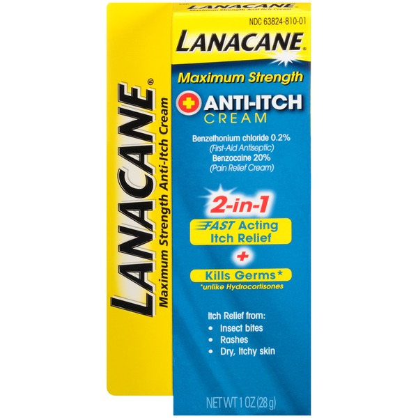 Lanacane Maximum Strength Anti-Itch Cream