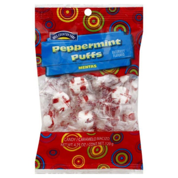 Hill Country Fare Red Bird Peppermint Puffs