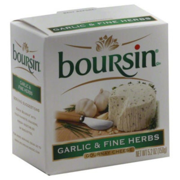 Boursin Garlic & Fine Herbs Gournay Cheese