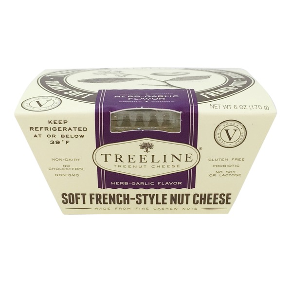 Treeline Soft French-Style Herb-Garlic Nut Cheese