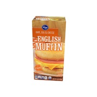 Kroger Ham Egg Cheese English Muffin