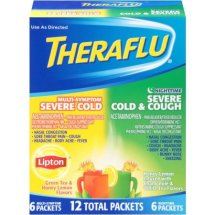 Theraflu Multi-Symptom Severe Cold/Nighttime Severe Cold & Cough Medicine Value Pack, 12 count
