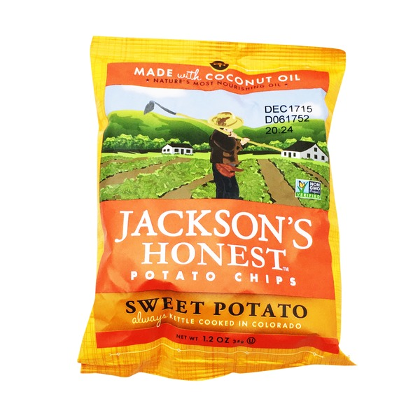 Jacksons Honest Potato Chips, Sweet Potato