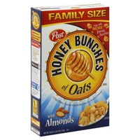 Post Honey Bunches of Oats Cereal, Honey Roasted