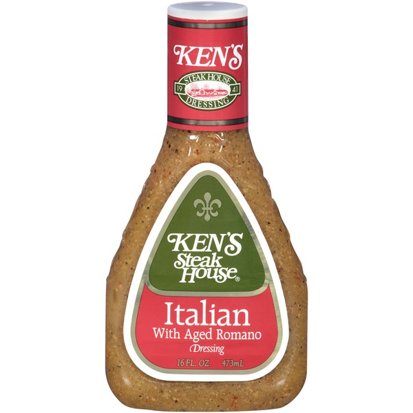 Ken's Steakhouse Italian with Aged Romano Dressing