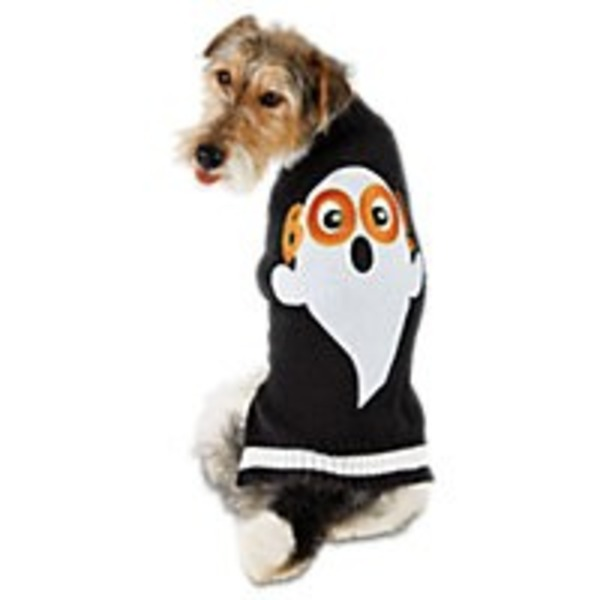 Extra-Extra-Large Halloween Boo Sweater