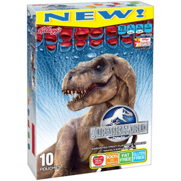 Kellogg's Jurassic World Fruit Flavored Snacks