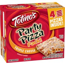 Totino's Triple Cheese Party Pizza Pack!, 39.2 oz, 9.8 OZ