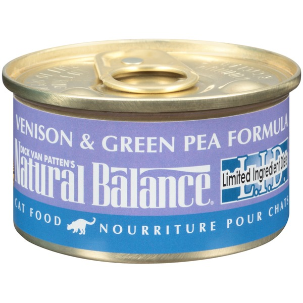 Natural Balance L.I.D. Venison & Green Pea Formula Cat Food