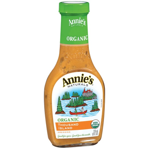 Annie's Homegrown Organic Thousand Island Dressing Organic