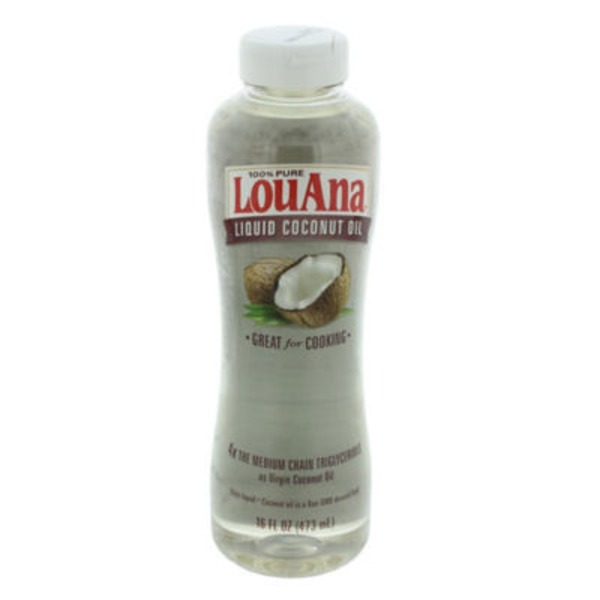 Lou Ana 100% Pure Liquid Coconut Oil