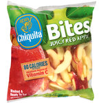 Chiquita Bites Juicy Red Apple Slices