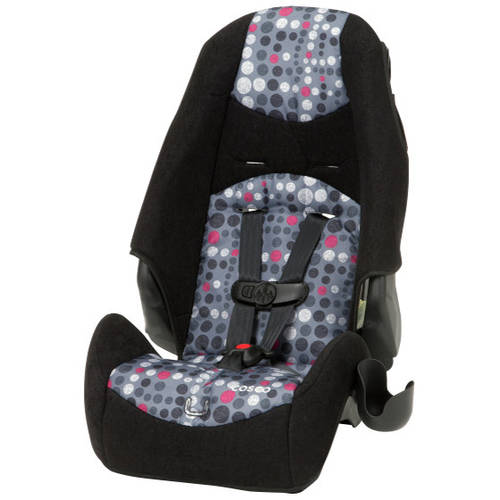 Cosco Highback Booster Car Seat Dots