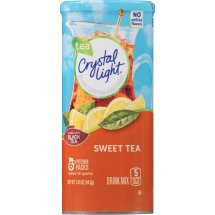 Crystal Light Drink Mix, Sweet Tea, 1.56 Oz, 6 Packets, 1 Count