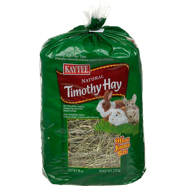 Kaytee Natural Timothy Hay For Rabbits, Guinea Pigs & Small Animals