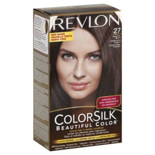 Colorsilk Permanent Color Deep Rich Brown 27