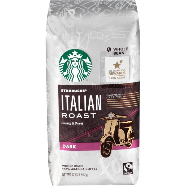 Starbucks Dark Italian Roast Whole Bean Coffee