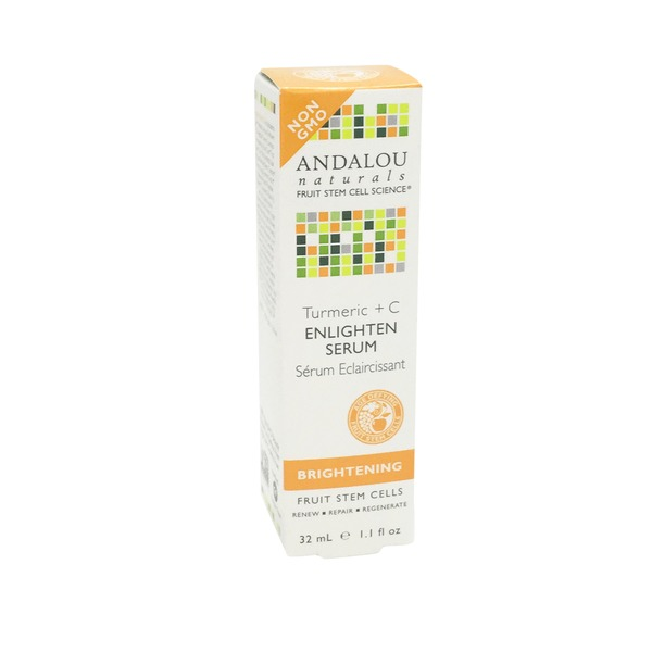 Andalou Naturals Turmeric + C Enlighten Serum Brightening