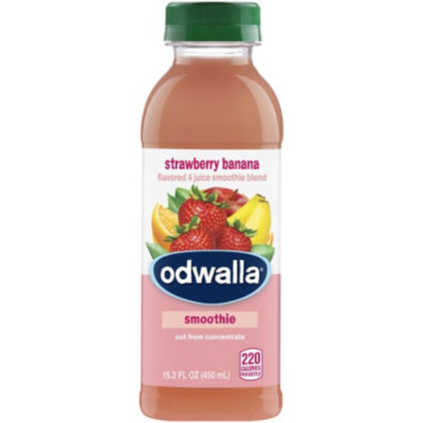 Odwalla Strawberry Banana Flavored 4 Juice Smoothie Blend