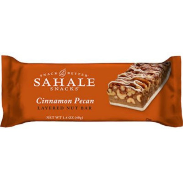 Sahale Snacks Cinnamon Pecan Layered Nut Bar