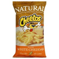 Cheetos Puffs Simply White Cheddar Cheese Flavored Snacks