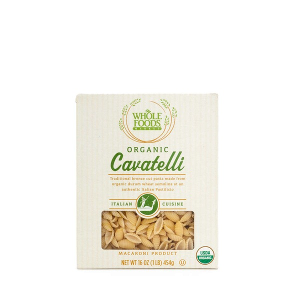 Whole Foods Market Organic Cavatelli Pasta