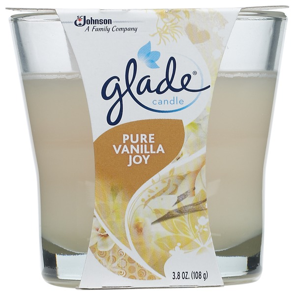 Glade Pure Vanilla Joy Candle