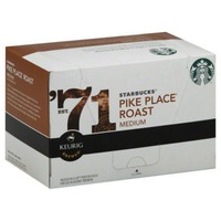 Starbucks Pike Place Roast Medium K-Cups