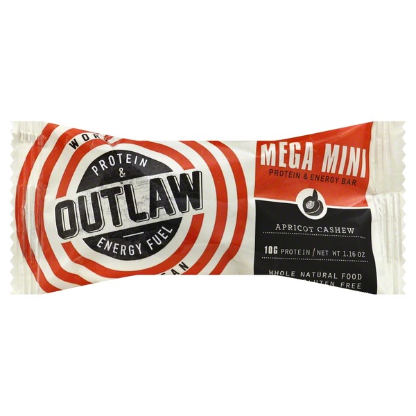 Outlaw Protein & Energy Fuel, Apricot Cashew
