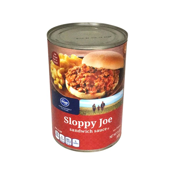 Kroger Sloppy Joe Sauce