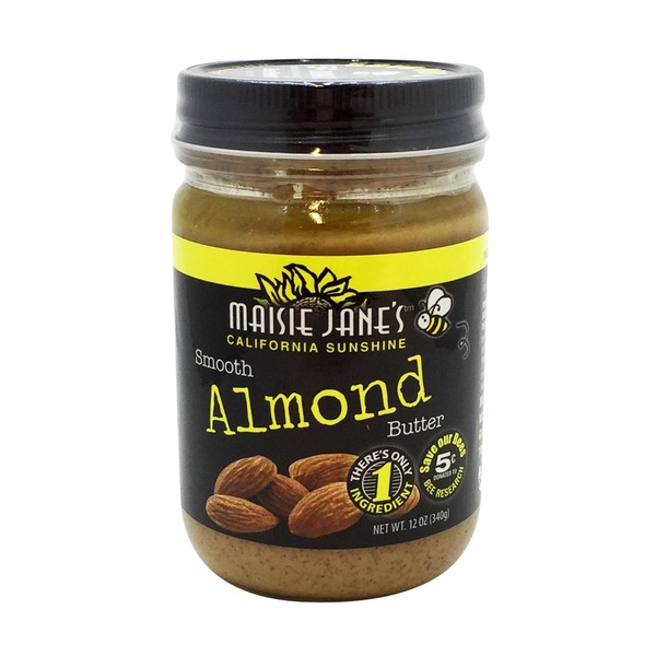 Maisie Jane's Smooth Almond Butter