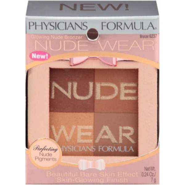 Nude Wear 6237 Glowing Nude--6237C Eclat Naturel Bronzer--Bronzeur
