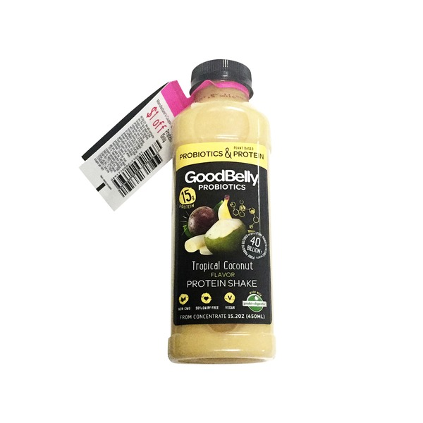 Good Belly Tropical Coconut Probiotic Protein Shake