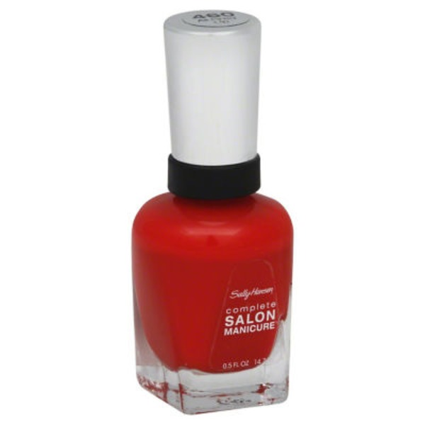 Sally Hansen 460 All Fired Up Complete Salon Manicure