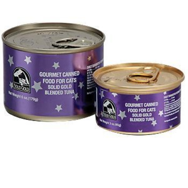 Solid Gold Blended Tuna Gourmet Canned Cat Food