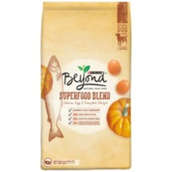 Beyond Dog Dry Superfood Blend Salmon Egg & Pumpkin Recipe Dog Food
