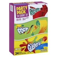 Betty Crocker Fruit Flavored Snacks Fruit Fusion Party Pack 24 Count