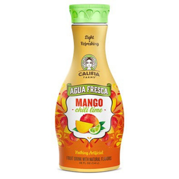 Califia Farms Mango Chili Lime Agua Fresca