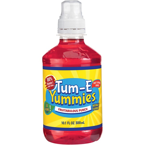 Tum E Yummies Fruitabulous Punch Fruit Flavored Drink