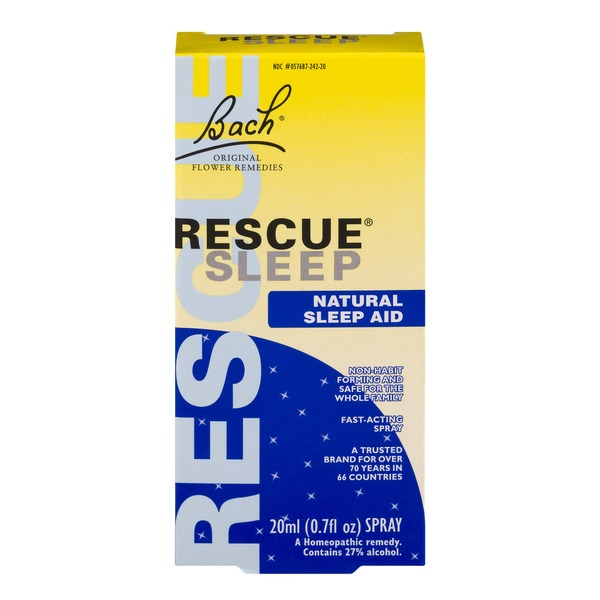 Bach Rescue Sleep Natural Sleep Aid Fast-Acting Spray